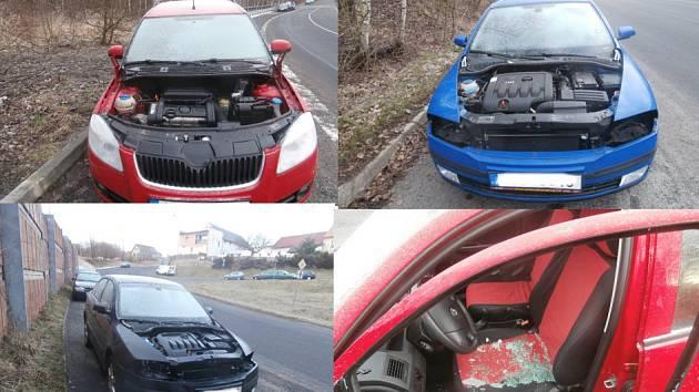 Zloději se zaměřili na automobily značky Škoda.