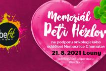Memoriál Petry Hézlové 2021 podpoří Onkologii Chomutov.