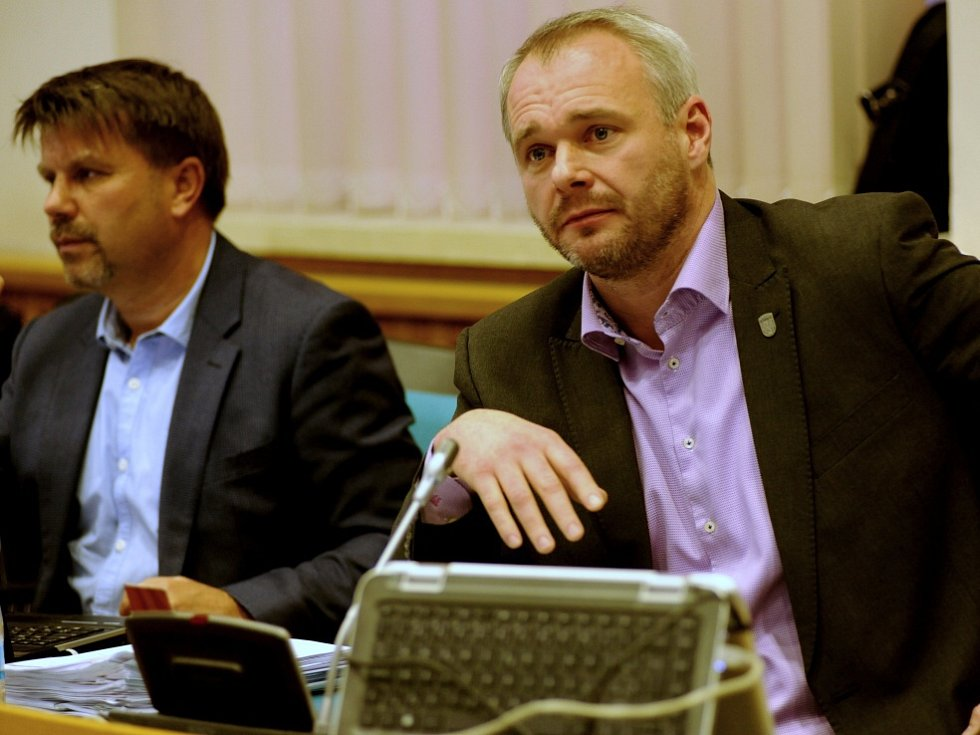 Marek Hrabáč (vpravo).