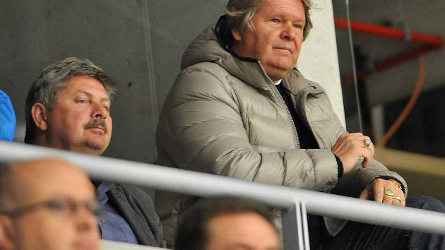 Jaroslav Veverka starší, majitel hokejového klubu Piráti Chomutov.