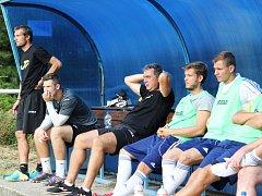Bičovský, Hofmann (uprostřed), Chaloupka byli posledními trenéři AFK Loko. Teď přichází další změna.