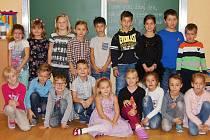 Žáci 1. A ze ZŠ Rudolfa Koblice v Kadani paní učitelky Jaromíry Repkové