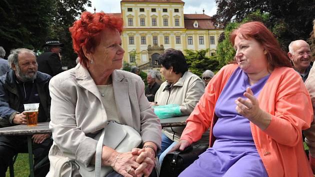Setkání rodáků ze zaniklých obcí.