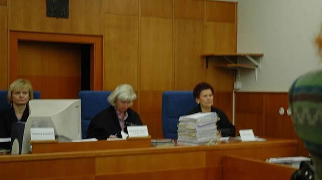 Soudkyně chomutovského soudu, kde se projednává případ týrání ve stacionáři Naděje 2000.