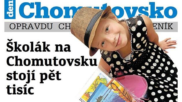 Týdeník Chomutovsko z 28. srpna 2018