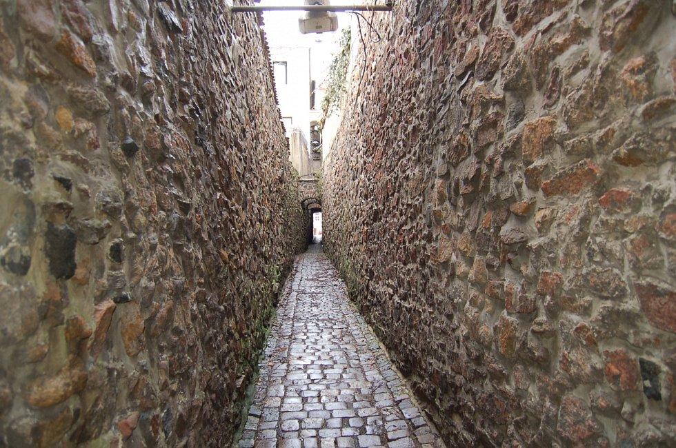 Katova ulička v Kadani
