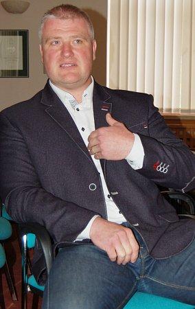 Tomáš Douda, ředitel městské policie vChomutově.