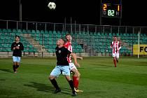 FC Chomutov (černí) - FK Baník Souš 2:1