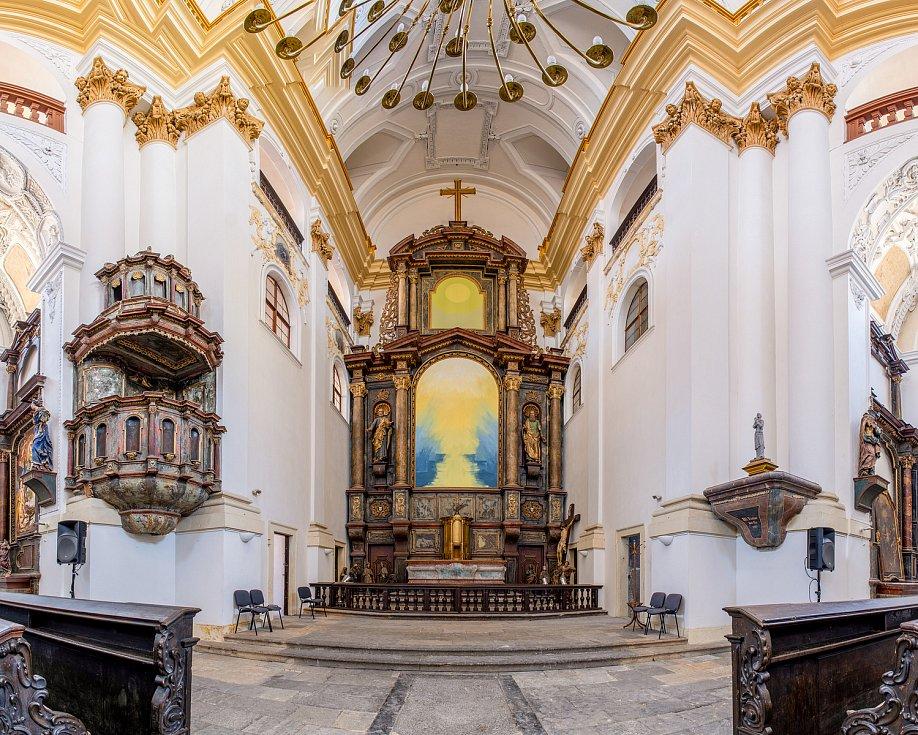 Kostel sv. Ignáce v Chomutově.