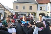 Z akce Města čtou v Německu.