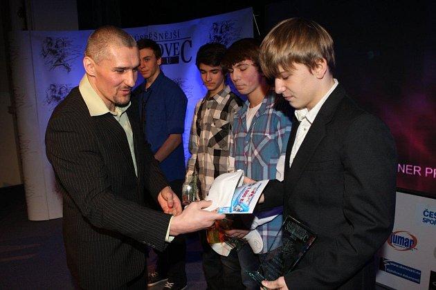 Mladí vzpěrači ovládli mládežnické kategorie v anketě Nejúspěšnější sportovci za rok 2012.