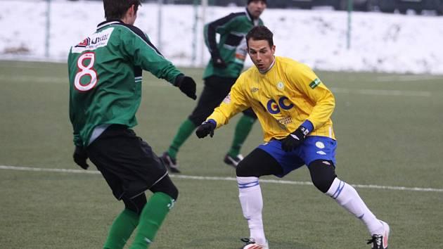 Fotbalisté FC Chomutov prohráli v přípravném zápase v Teplicích 0 : 2