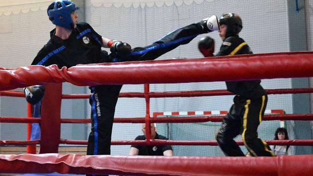Ladislav Eisenhammer v ringu.