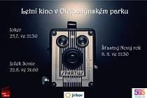 Letní kino v Jirkově bude porpvé letos promítat v sobotu.
