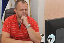 Starosta Jiří Kulhánek (na snímku) obhájí post kadaňského starosty i po letošních volbách. Zahájí tak v čele města už čtvrté volební období..