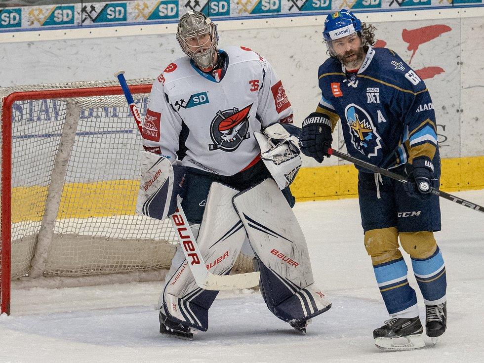 Chomutov vstoupil do baráže výhrou, Kladno porazil 2:0.