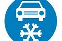 Za značkou Zimní výbava musí mít řidiči zimní pneumatiky.