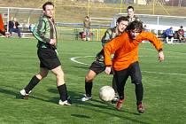 STRUPČICKÁ KANONÁDA. Fotbalisté Strupčic si v šestém kole turnaje Apollo cup v Souši vylepšili skóre. Kadaňský SKP totiž porazili výsledkem 6:2.