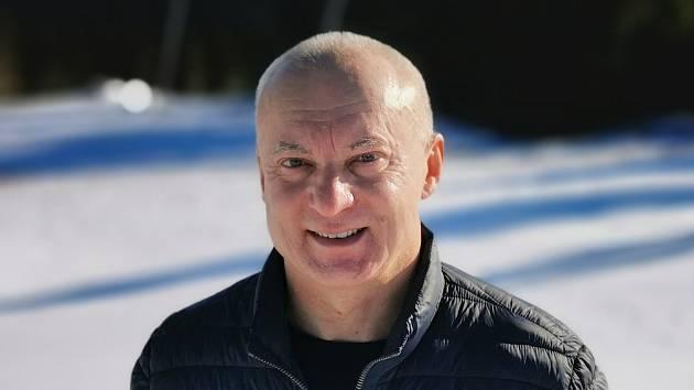 Petr Zeman, jednatel a majitel Skiareálu Klínovec.