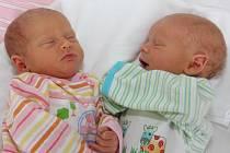 Dvojčátka Daniel a Sophie Váňovi se narodila mamince Gabriele Vymyslické v chomutovské nemocnici. Dříve narozená Sophinka přišla na svět v 15.20 hodin, měří 48 centimetrů a váží 2,750 kilogramů. Daniel se narodil o 6 minut později – tedy v 15.26 hodin, mě