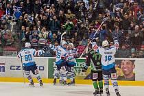 Radost fanoušků i hokejistů Chomutova byla obrovská