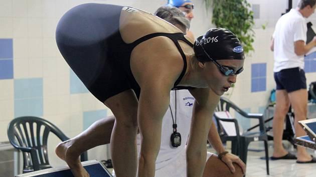 Simona Baumrtová je pravidelnou účastnící Velké ceny Chomutova.