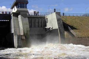 U příležitosti Dne otevřených dveří zpřístupní Povodí Ohře vodní díla Skalka (na snímku), Březová, Jirkov a Chřibská, a to včetně vnitřních prostor.