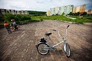 Jeden z minulých ročníků Chomutovské cyklojízdy
