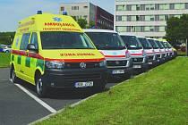 Devět nových sanitních vozů. V Chomutově jich zůstane pět.
