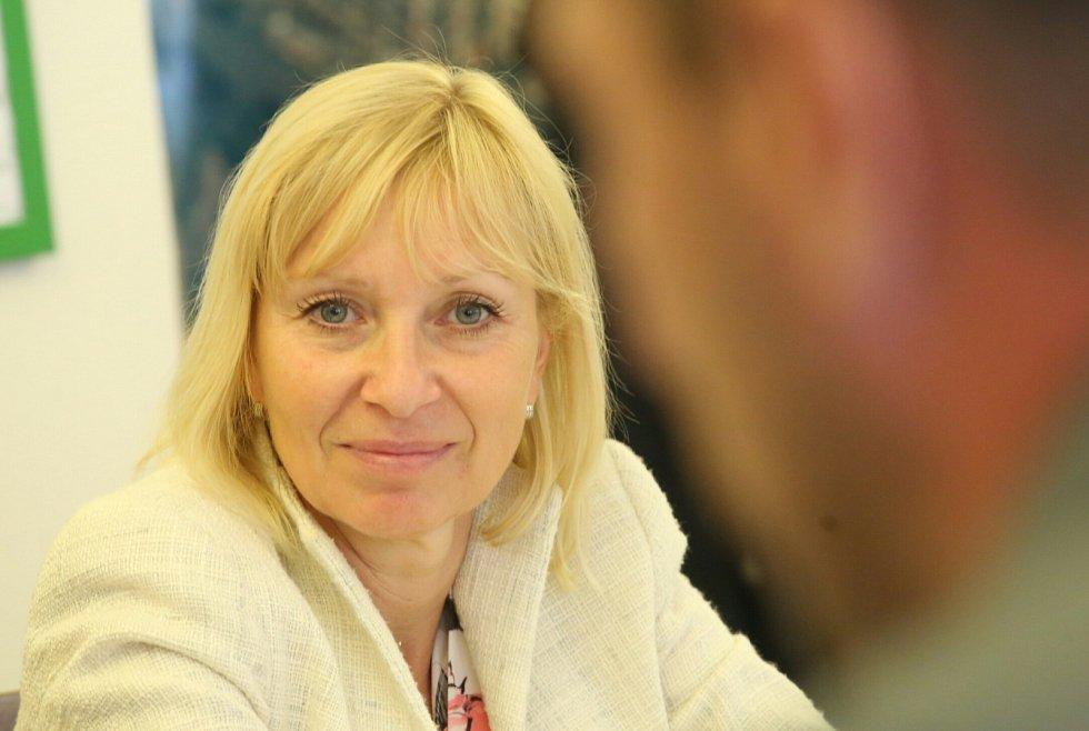 Marie Blažková, vedoucí oddělení plánování a realizace sociálních služeb na Krajském úřadu Ústeckého kraje