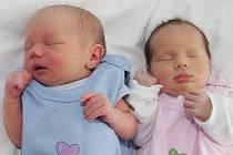 Maminka Kateřina Sychrová z Křímova se od 3.8. 2009 raduje ze svých dvojčátek Ladislava a Stanislavy Sehnoutkových. Malá Stanislava se narodila v 9.13 hodin, měřila 48 centimetrů a vážila 2,45 kilogramů. Ladislav se narodil o minutu později – v 9.14 hodin