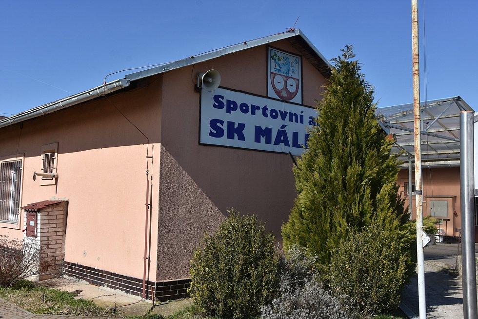 Sportovní areál v Málkově.