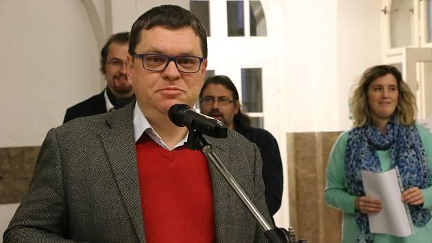 Historik a filozof Petr Hlaváček.