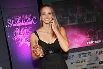 Vítězka za rok 2013 Simona Baumrtová