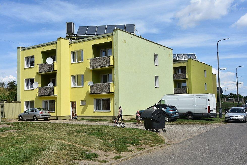Bytovky v Hradci u Kadaně.