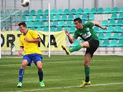UTKÁNÍ proti Neratovicím bylo pro Jana Pavlicu posledním domácím zápasem za FC Chomutov.