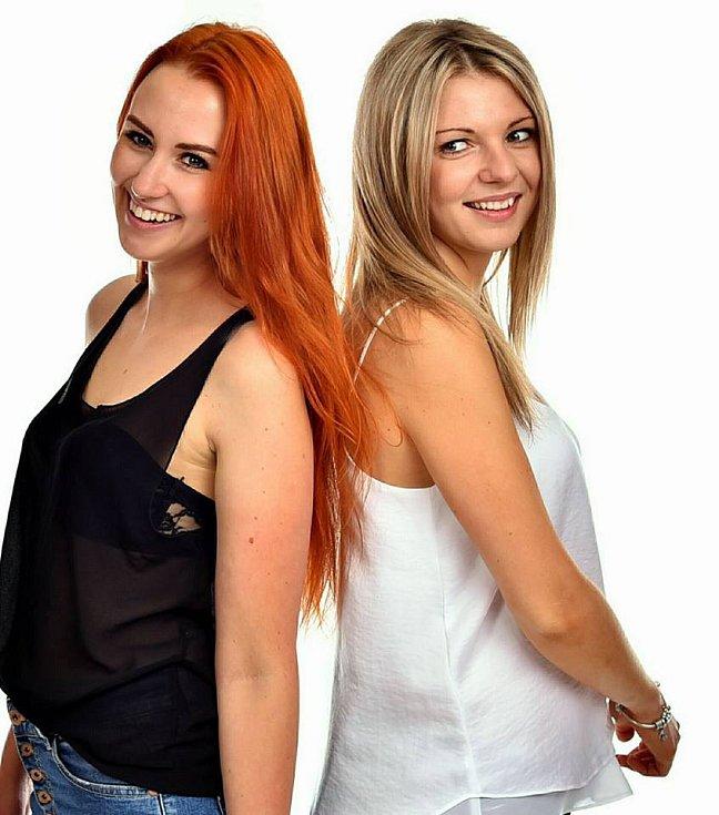 Bea Kovářová a Johanka Šejnová