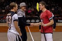 Kapitán národního týmu Tyler Brush, který by se měl letos do Chomutova vrátit.