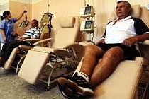 Lékaři onkologického oddělení nemocnice v Chomutově začnou pacientům znovu poskytovat biologickou léčbu nádorových onemocnění. Desítky pacientů tak už nebudou muset dojíždět do Ústí nad Labem (na snímku zdejší onkologický stacionář).