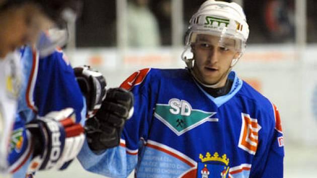 Snímky z derby KLH Chomutov s SK Kadaň.
