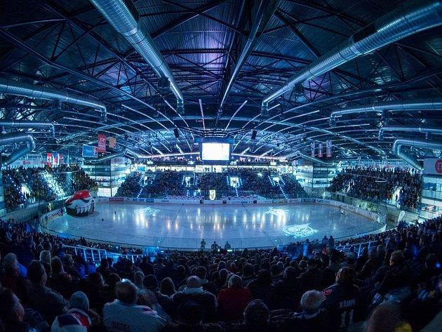 Chomutovský zimní stadion před utkáním domácích Pirátů