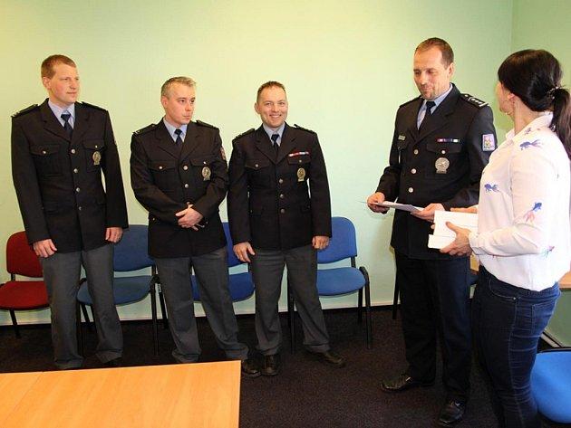Ocenění policisté