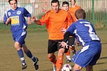 Snímek z podzimního utkání proti Kladnu.