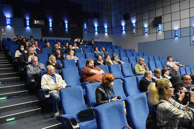 V Chomutově promítli film Praga pana Příhody.