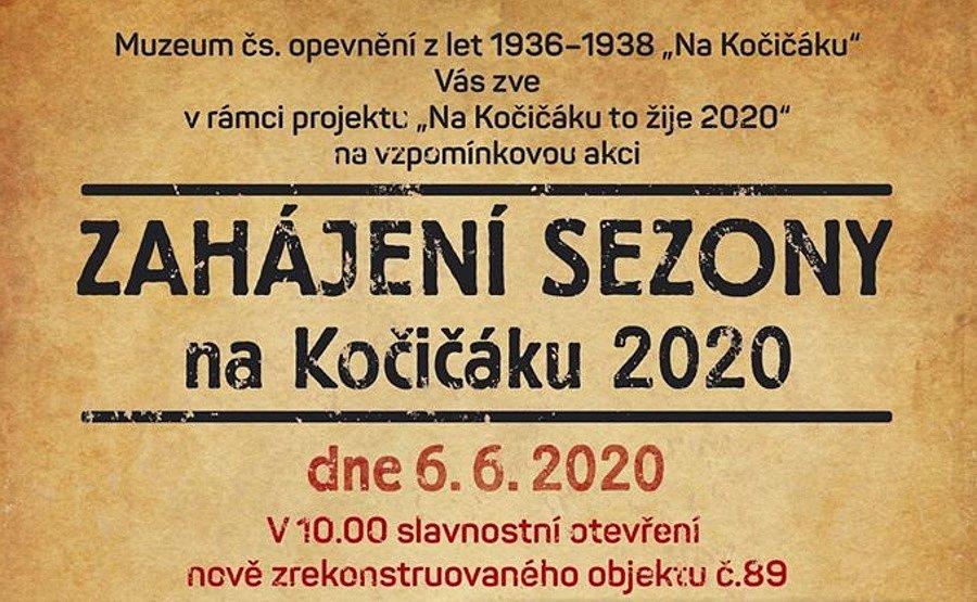 Muzeum Na Kočičáku zahájí sezonu 6. června.