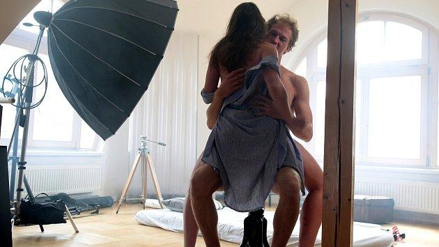 Snímky z připravovaného filmu Poslouchej.