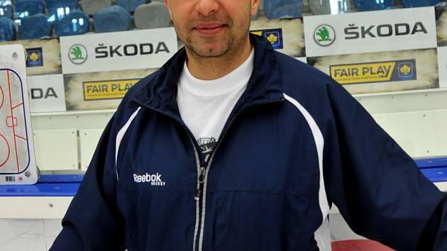 Josef Turek na tréninku Pirátů.
