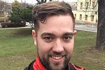 Kondiční trenér Florbalu Chomutov Lukáš Průša.