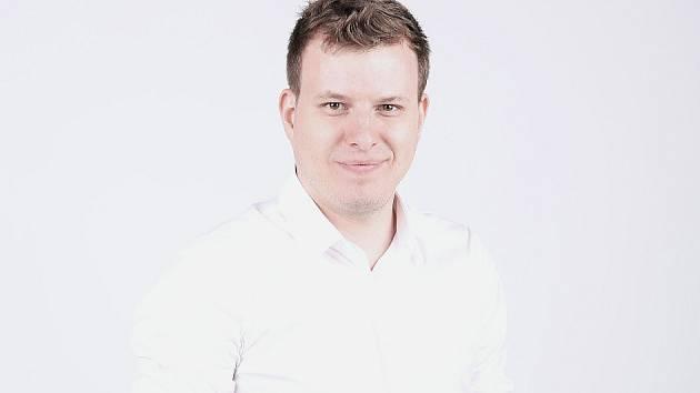 David Dinda, marketingový manažer Pirátů Chomutov a nyní lídr hnutí Nový Sever.