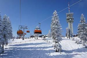 Skiareál Klínovec
